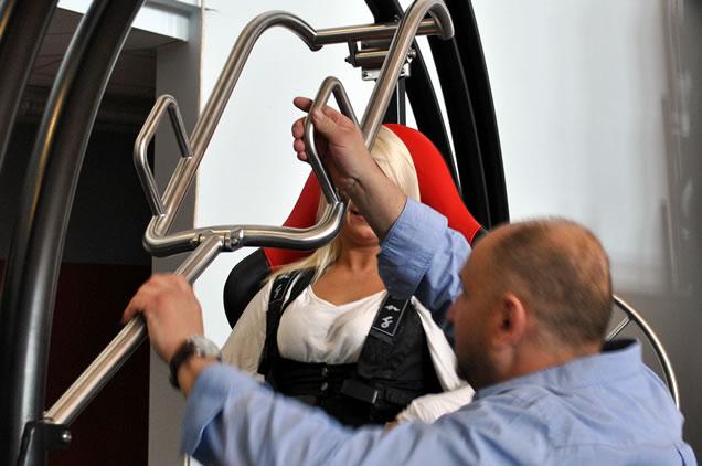trenażer żyroskop medyczny rehabilitacyjny AD-LIBITUM 1